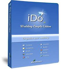 wedding planning software ido wedding edition wedding planning software