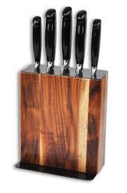 bloc de couteaux de cuisine professionnel bloc couteaux sabatier international 5 pièces