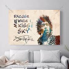 Cheap Art Prints by Online Get Cheap Jimi Hendrix Art Prints Aliexpress Com Alibaba