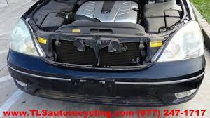 lexus ls430 rear bumper cover lexus ls 430 2002 car for parts youtube