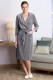 robe de chambre coton homme peignoir femme coton fin