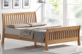 Beech Bed Frame Beech Sleigh Bed Frame Wooden Pine Beds