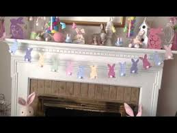 Easter Decorations Tree by Dollar Tree Easter Craft Youtube