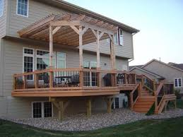 Deck With Pergola by Aluminum Decking U0026 Deck Rail Deck Design 3 Reasons To Have A