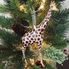 giraffe ornament bernard the giraffe