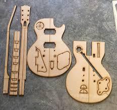 guitar building templates 58 60 les paul standard 1959 reverb
