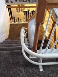 helix curved stair lift independently yours
