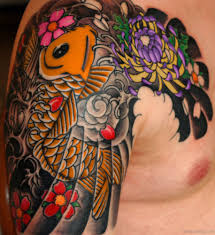 29 best fish tattoos on shoulder