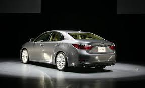 lexus es 2013 2013 lexus es debuts with hybrid drivetrain 2012 york auto
