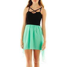 trixxi high low lattice dress jcpenney fashion