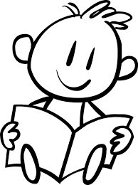 boy reading coloring page kids drawing and coloring pages marisa