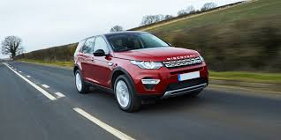 land rover discovery 2016 red land rover discovery sport review carwow
