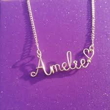 wire name necklace custom wire name necklace personalized handmade wholesale price