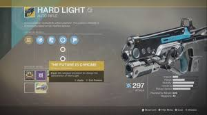 The Future Is Chrome Ornament Hard Light Destiny 2 Youtube