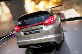 grey honda civic geneva march 8 grey break honda civic tourer concept on