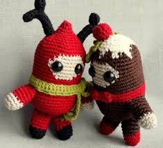 Amigurumi Christmas Ornaments - amigurumi xmas slugom for