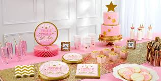 twinkle twinkle party supplies pink twinkle twinkle gender reveal baby shower party