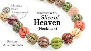 bracelet beading designs images Make quot slice of heaven quot necklace or bracelet jpg