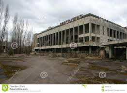 the abandoned city of pripyat chernobyl royalty free stock image