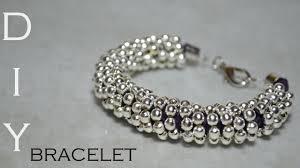 silver bead bracelet diy images Diy silver bracelet jpg