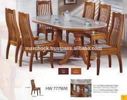 modern asian design solid dining table u0026 chairs with natural