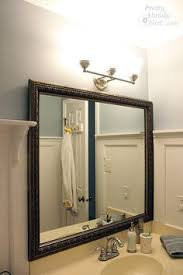 framing bathroom mirrors with crown molding framing bathroom mirrors with crown molding google search diy