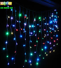 Multi Color Icicle Lights Colored Icicle Christmas Lights Images