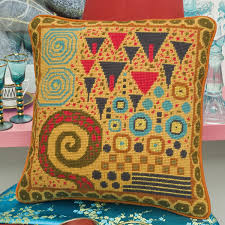 klimt toffee new needlepoint canvas from ehrman tapestry by