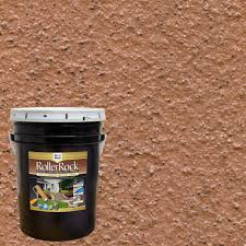 daich rollerrock 5 gal self priming cinnamon exterior concrete
