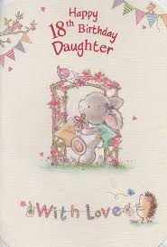 doc daughter 18th birthday card u2013 18th birthday card perfect
