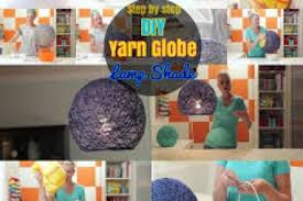 Diy L Shade String Globe Lights Diy Diy Craft