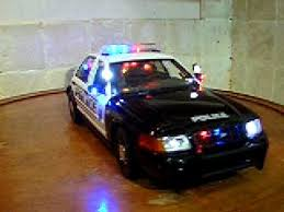 toy police cars with working lights and sirens for sale 1 18 city of modesto ca police wnit w lights and siren diecast toy