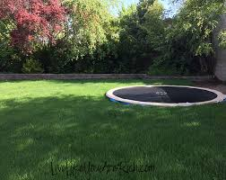 how to install an inground trampoline live like you are rich