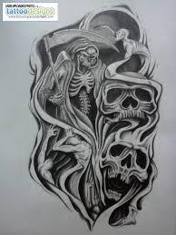 skulls half sleeve design tattoomagz