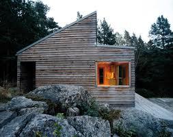 w35 prefab cabin in oslo fjord by marianne borge faustian urge