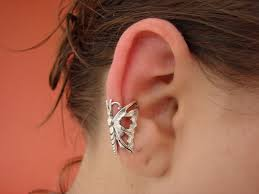 cuff piercing butterfly ear cuff no piercing by fusedelegance on deviantart