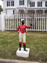 original lawn jockey original cast iron lawn jockey replica