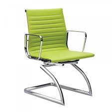 cantilever style apple green conference chair cult uk