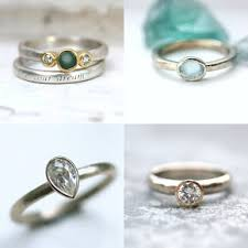 sea glass engagement rings the glasswing jewellery ethical wedding rings and sea glass
