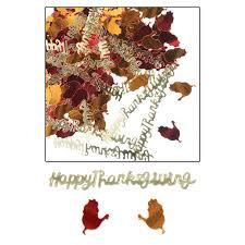 bulk party supplies 6ct beistle happy thanksgiving confetti bulk party supplies