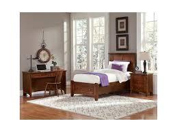 vaughan bassett bonanza twin bedroom group great american home