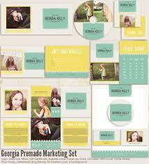 premade marketing sets 7thavenue designs logo and templates