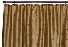 Fleur De Lis Bathroom Decor by Modern Bathroom Decor With Gold Black Shower Curtain And Double