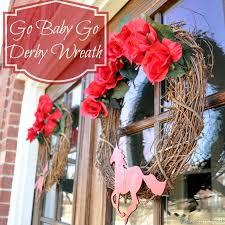Kentucky Derby Flowers - kentucky derby wreath diy spring wreath