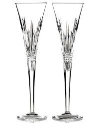 waterford stemware lismore toasting flutes set of 2