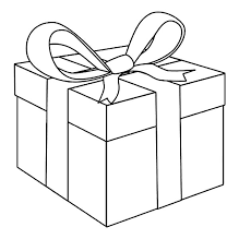 Awesome Present Box Coloring Page Awesome Present Box Coloring Box Coloring Pages
