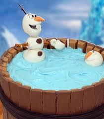 10 superb disney frozen olaf party ideas kids kit kat cakes