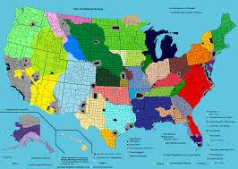 Map Of Carolinas Confederation Of Carolina And Virginia 1962 The Apocalypse