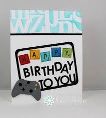 karrenj stamping stuff gamer birthday