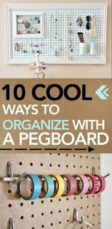 cool pegboard ideas 47 easy ways to get organized making use of diy pegboard ideas